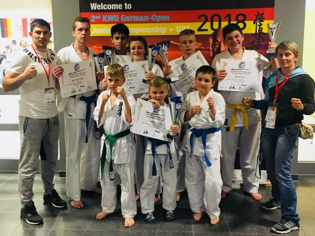 Deutsche Meisterschaft KWU in Kyokushin Karate